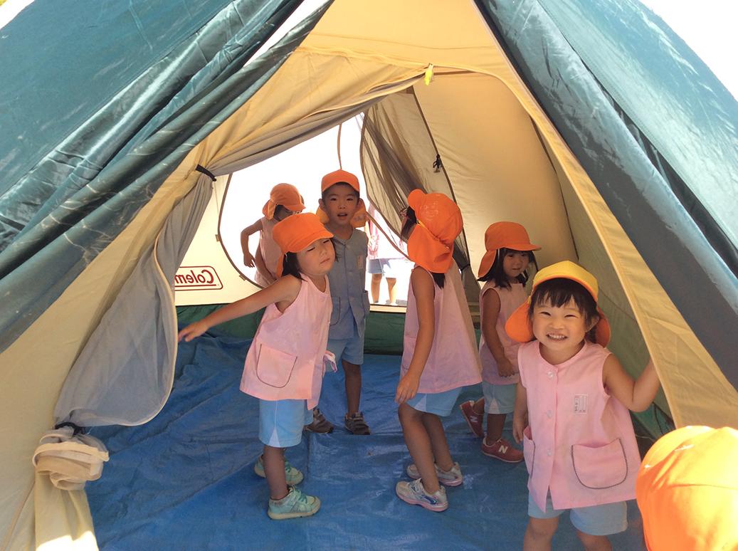 キャンプごっこ画像3