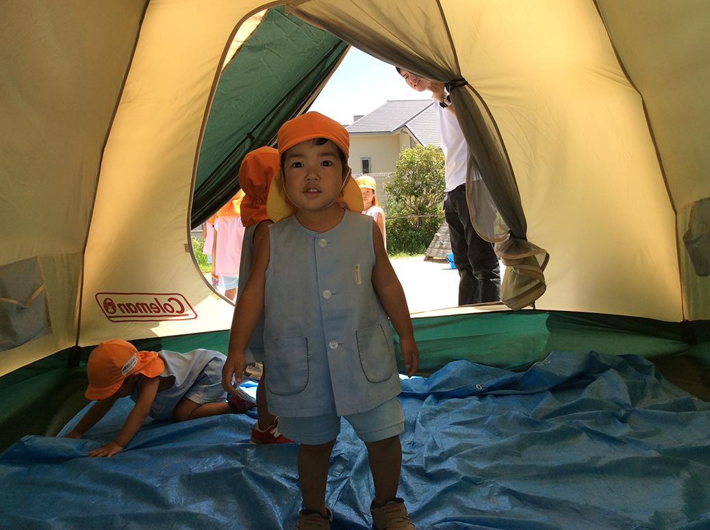 キャンプごっこ画像4