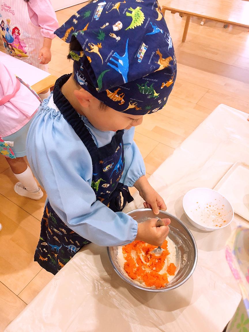 にんじんケーキづくり6