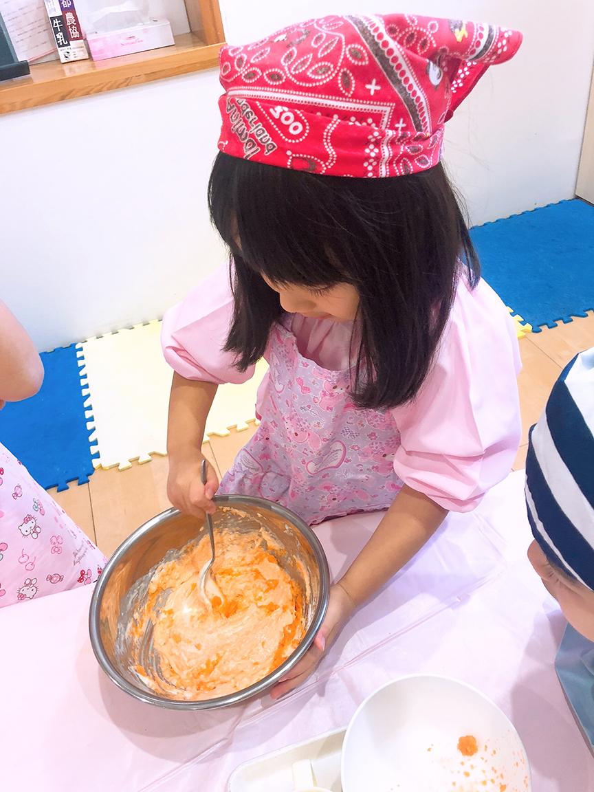 にんじんケーキづくり7