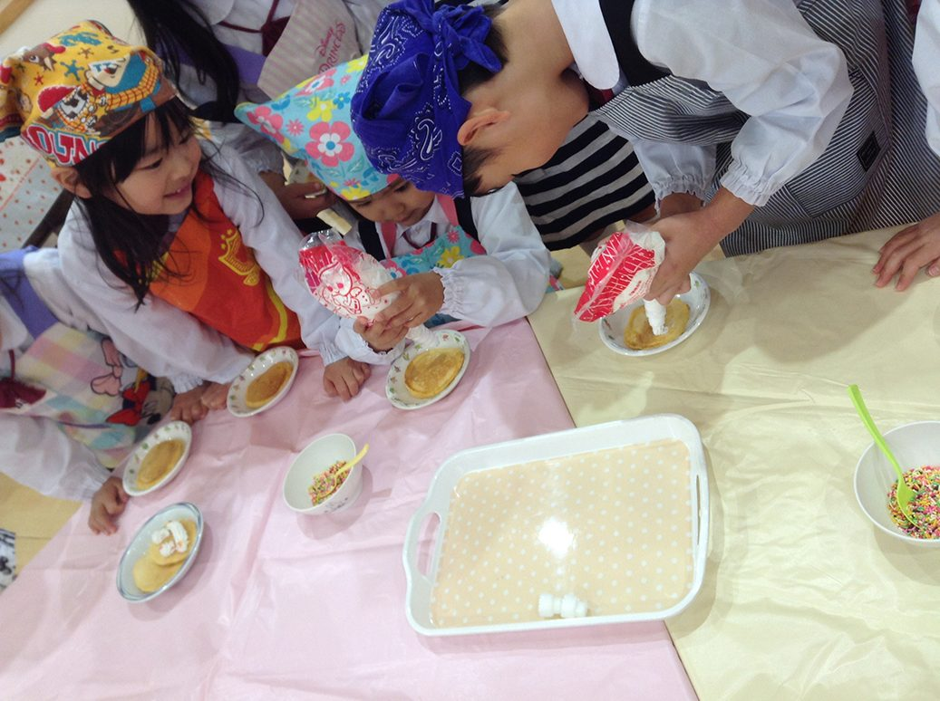 にんじんケーキづくり12