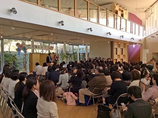平成31年度入園式の写真1