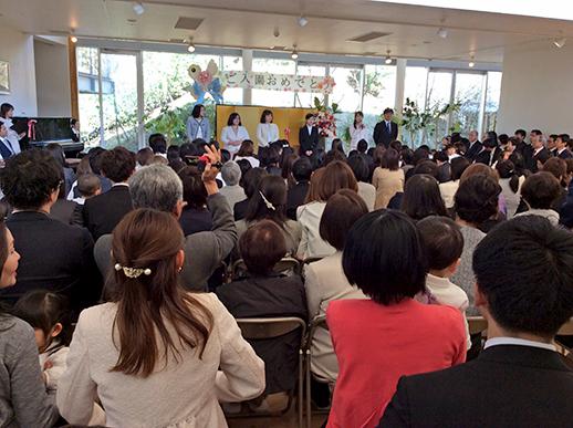 平成31年度入園式の写真3
