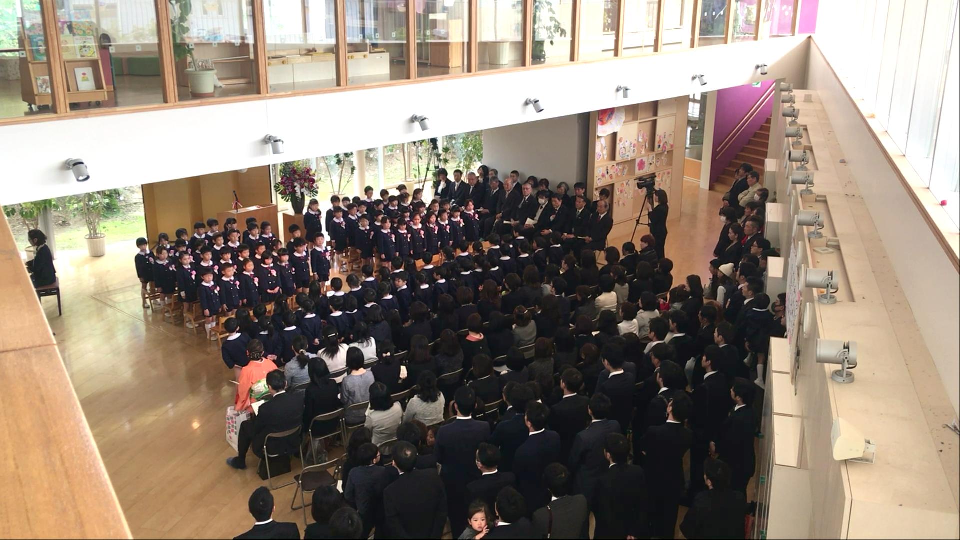 平成30年度松井ヶ丘保育園卒園式1